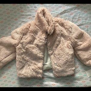 Helena faux fur coat
